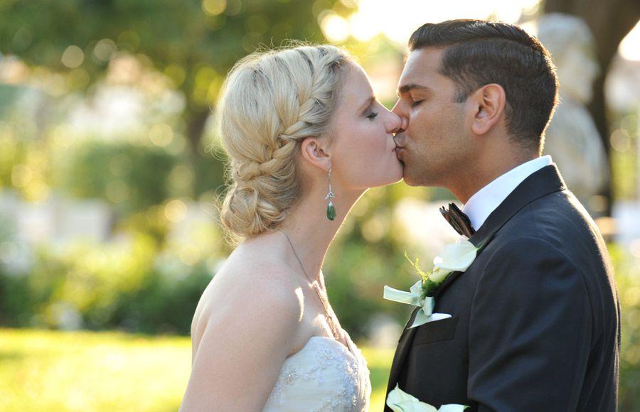 Rome wedding hair stylist Louise Faulkner